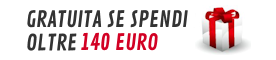spedizione gratuita oltre 140 euro