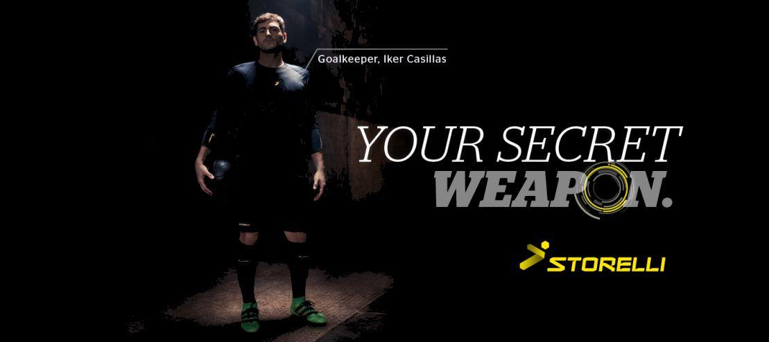 Abbigliamento protettivo portiere Storelli Casillas