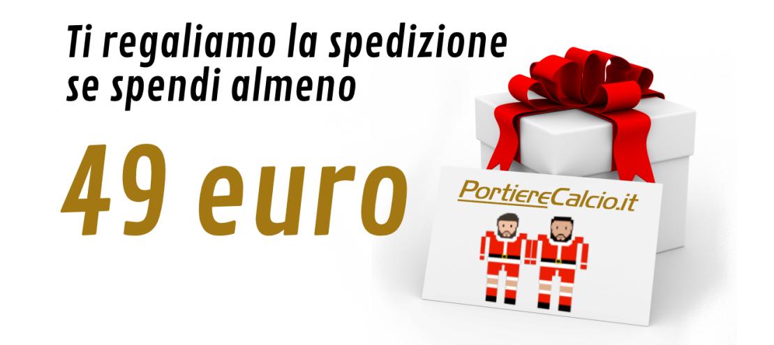 Spedizione gratuita se spendi almeno 49 euro