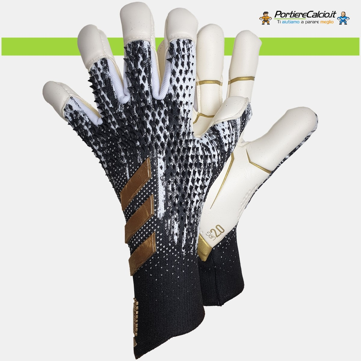 Donnarumma usa i guanti Adidas Predator 20 Pro Inflight