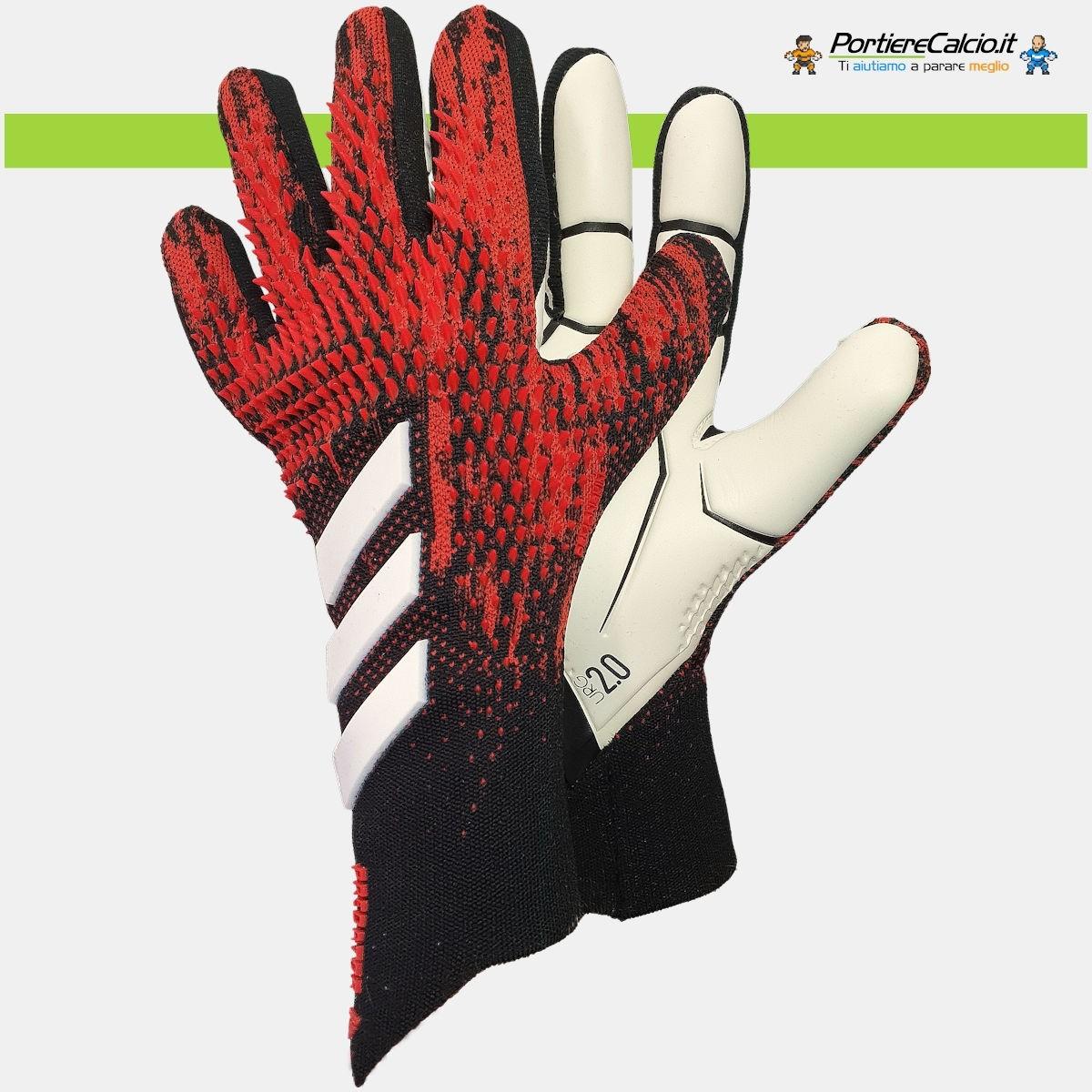 Donnarumma usa i guanti Adidas Predator 20 Pro Mutator Pack