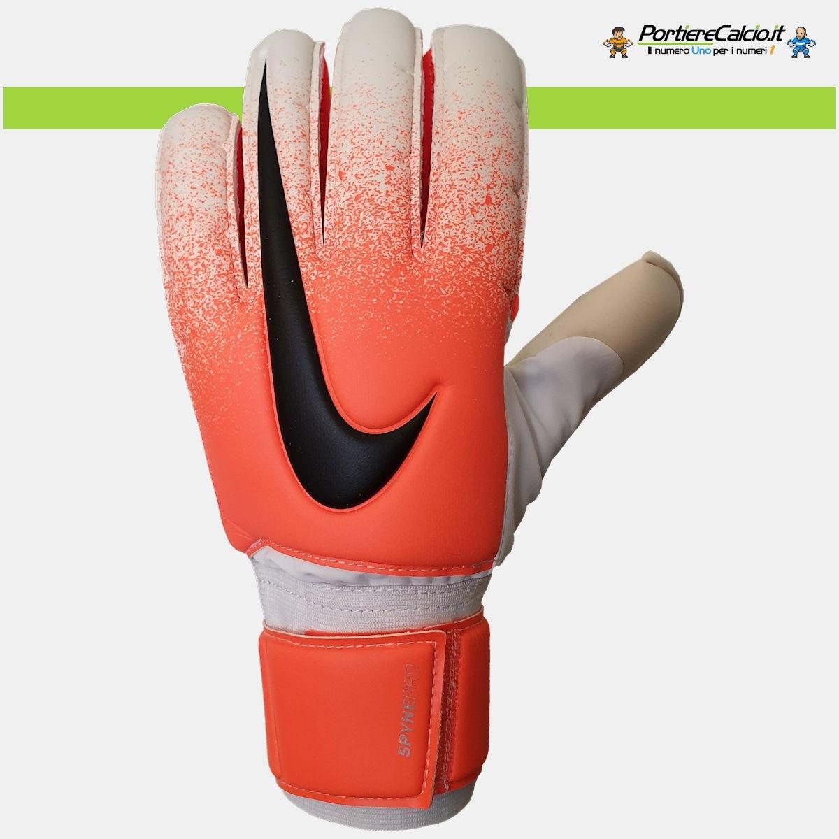 a980af0efb Guanti da portiere Nike Gk Spyne Pro bianco arancio dorso
