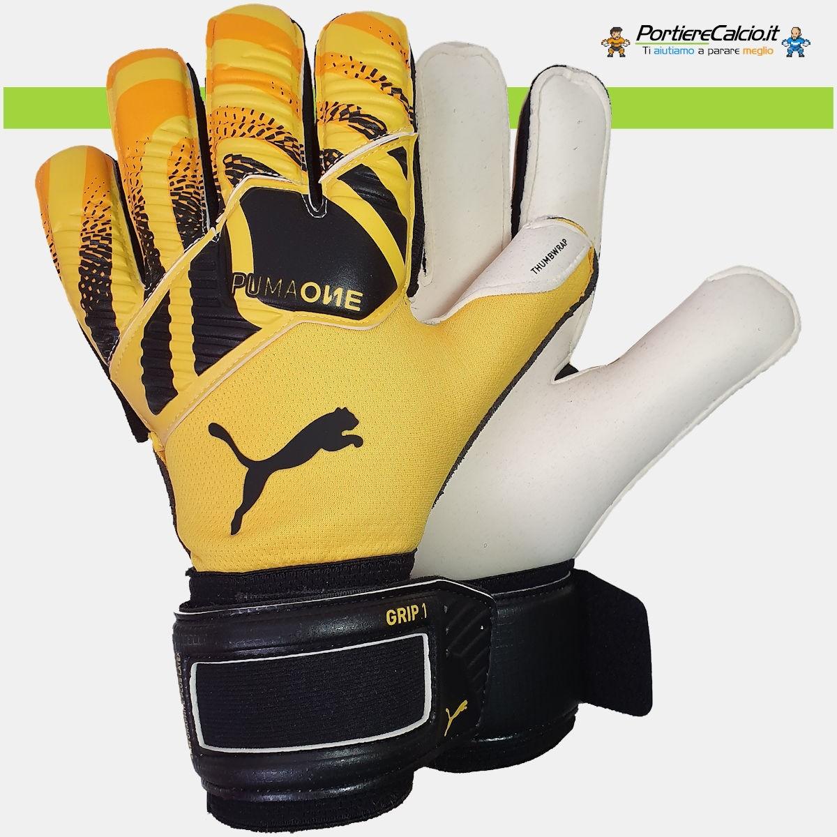 Buffon usa i guanti Puma One Grip 1