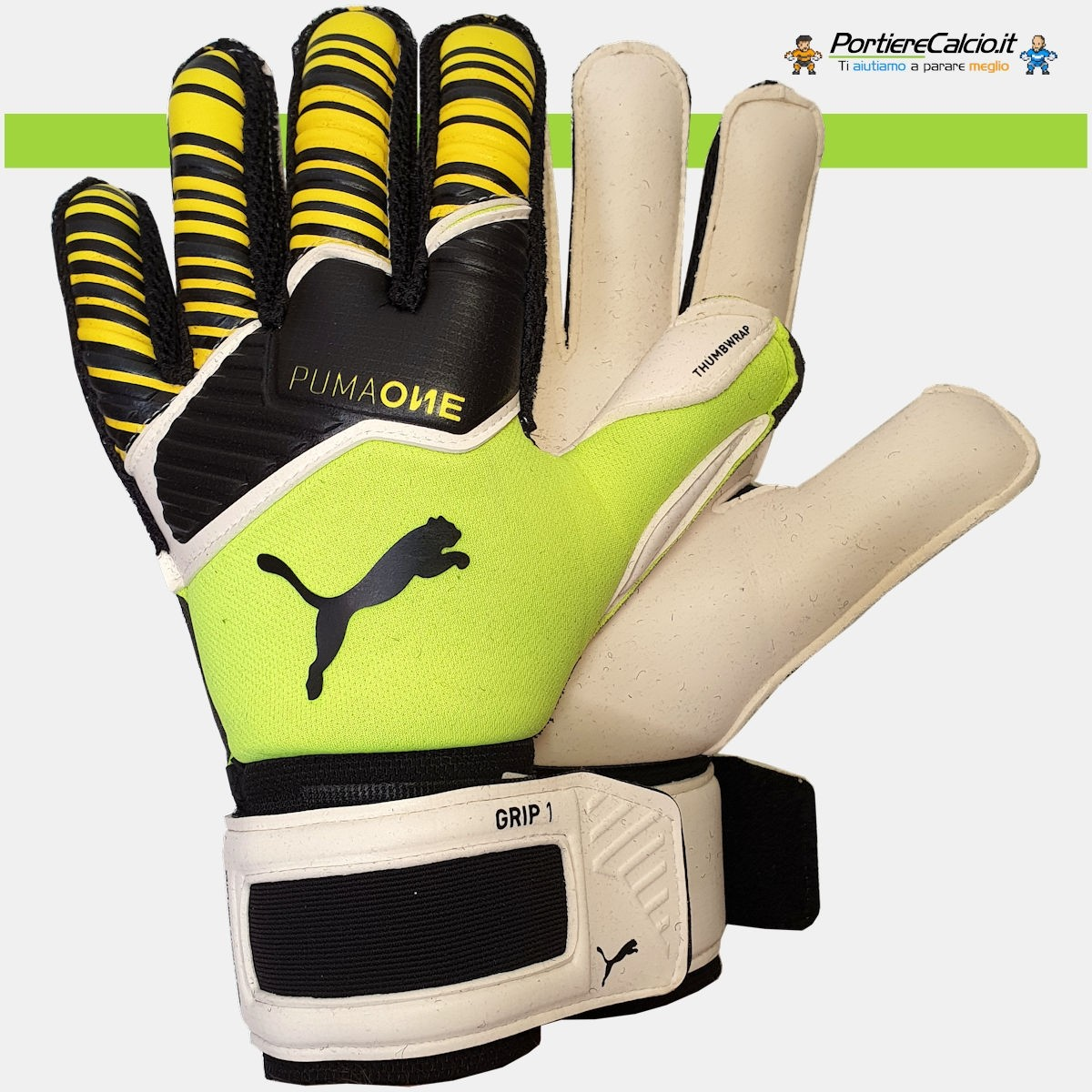 Buffon usa i guanti Puma One Grip 1