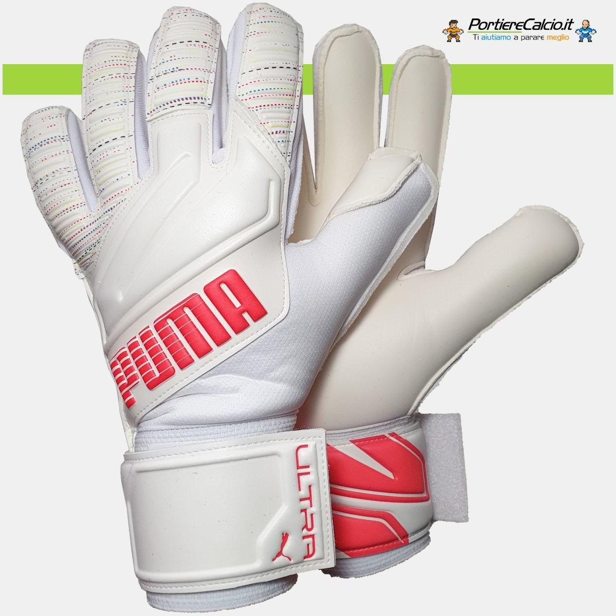 Buffon usa i guanti Puma Ultra Grip 1