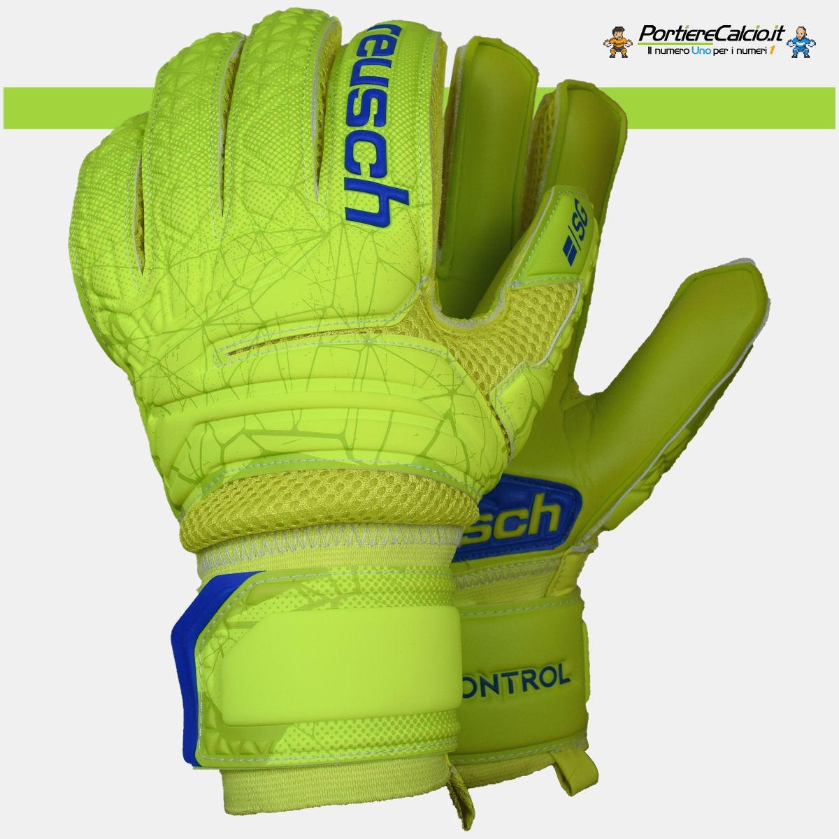Guanti da portiere Reusch Fit Control SG Extra Finger Support su ... 3f6e1c04f5c4
