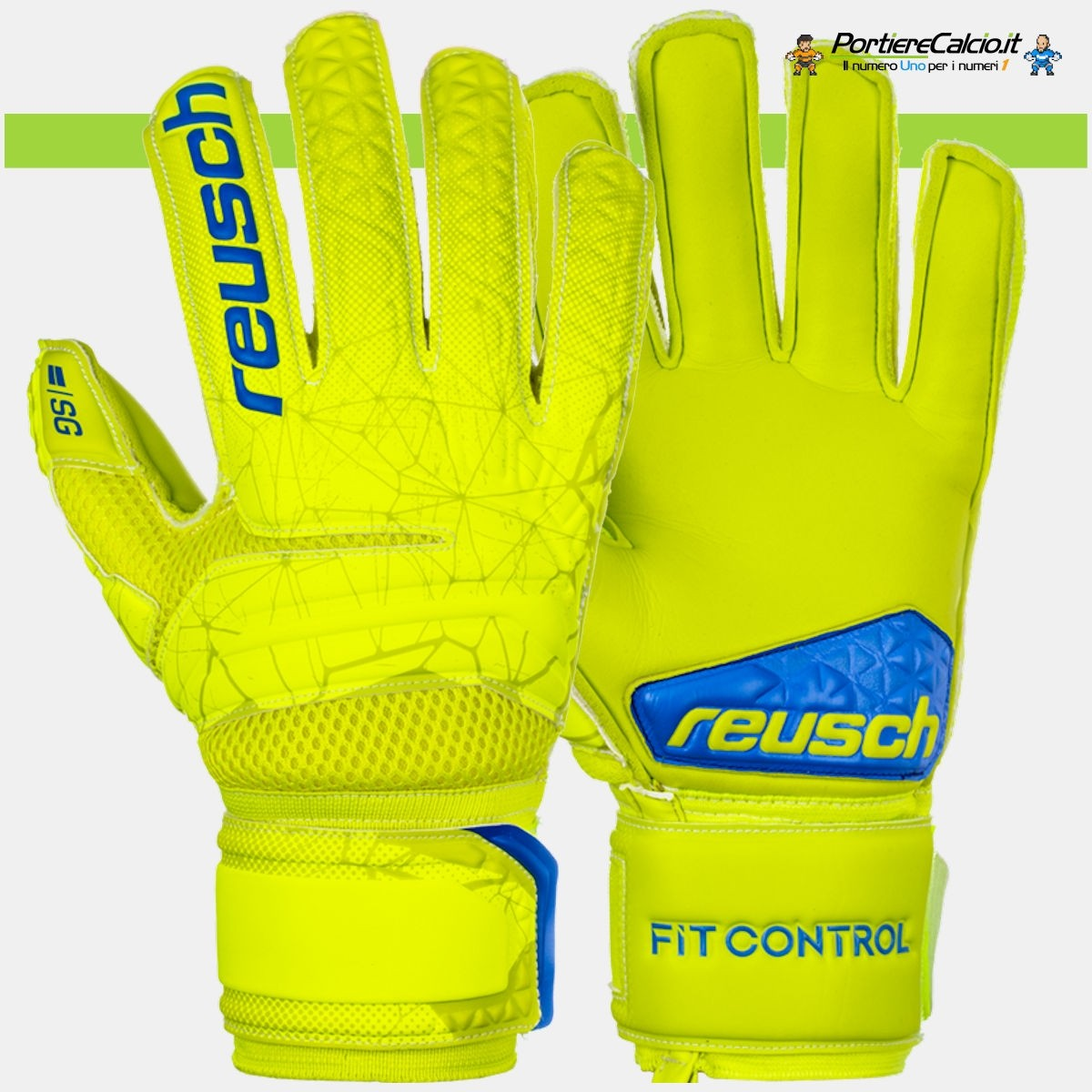 Guanti da portiere Reusch Fit Control SG Extra Finger Support junior ... d3fc6125d159