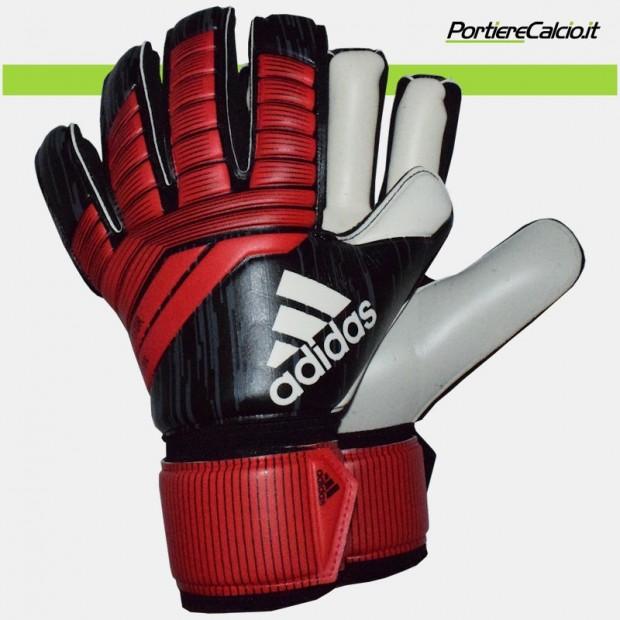 Guanti da portiere Adidas Predator League neri rossi