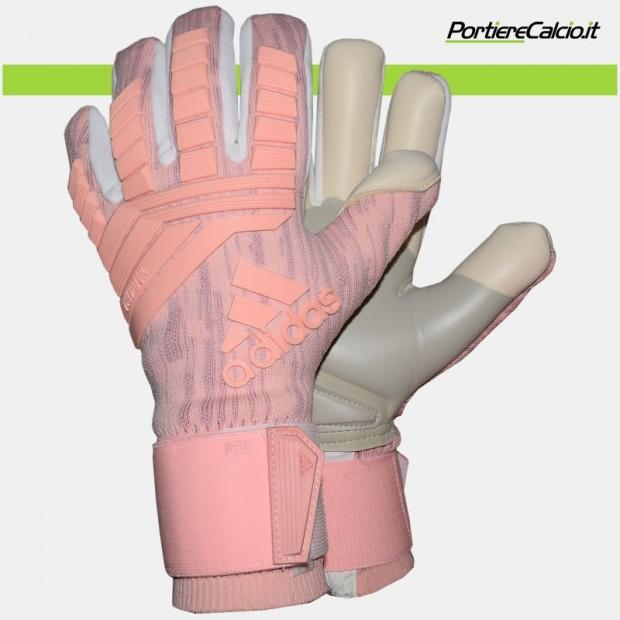 Guanti da portiere Adidas Predator Pro rosa