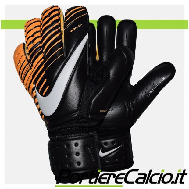 Guanti da portiere Nike Gk Premier SGT neri arancio