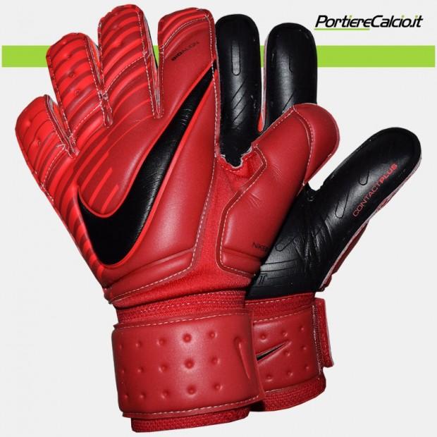 Guanti da portiere Nike Gk Premier SGT rossi neri