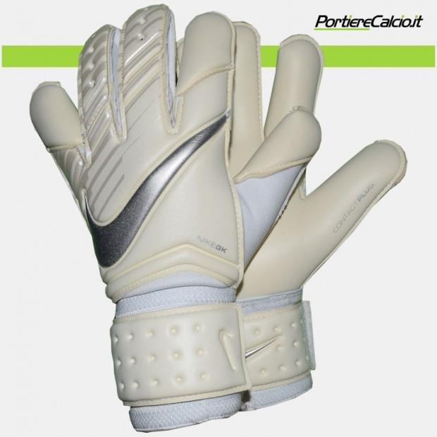 Guanti da portiere Nike Gk Vapor Grip 3 bianchi argento