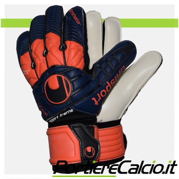 Guanti da portiere Uhlsport Eliminator Supersoft Supportframe