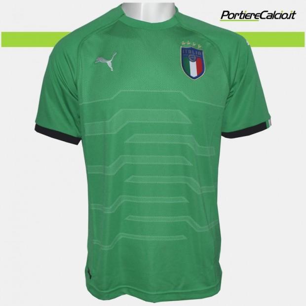 Maglia portiere Puma Italia verde 2018