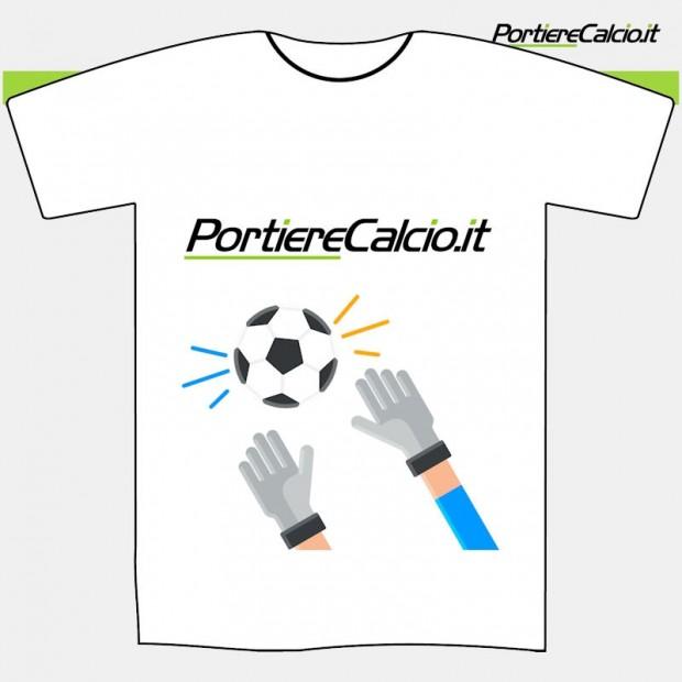Maglietta cotone Portierecalcio parata