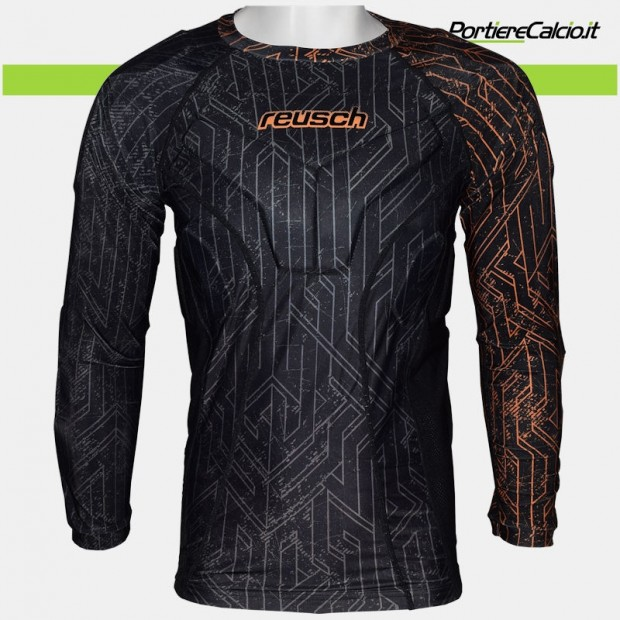 Sottomaglia portiere Reusch CS 3/4 Undershirt Padded Pro 2018