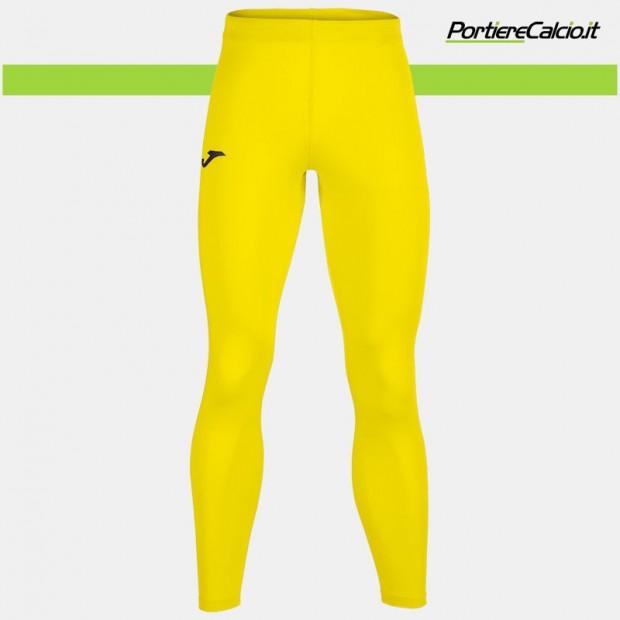 Sottopantalone elasticizzato Joma Brama Academy giallo