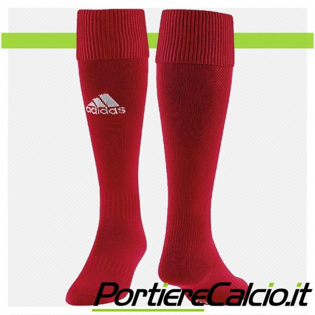 Calzettoni Adidas Santos 12 rossi