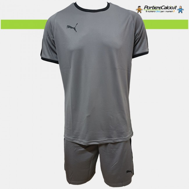 Completo portiere Puma Liga GK grigio