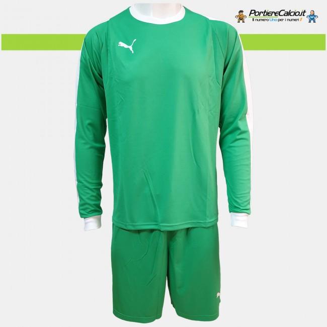 Completo portiere Puma Liga GK verde