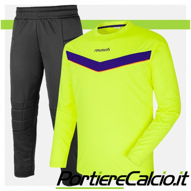 Completo da portiere Reusch Set Junior giallo