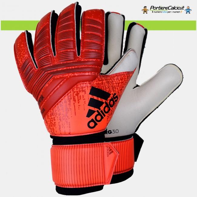 Guanti da portiere Adidas Predator League rossi arancio