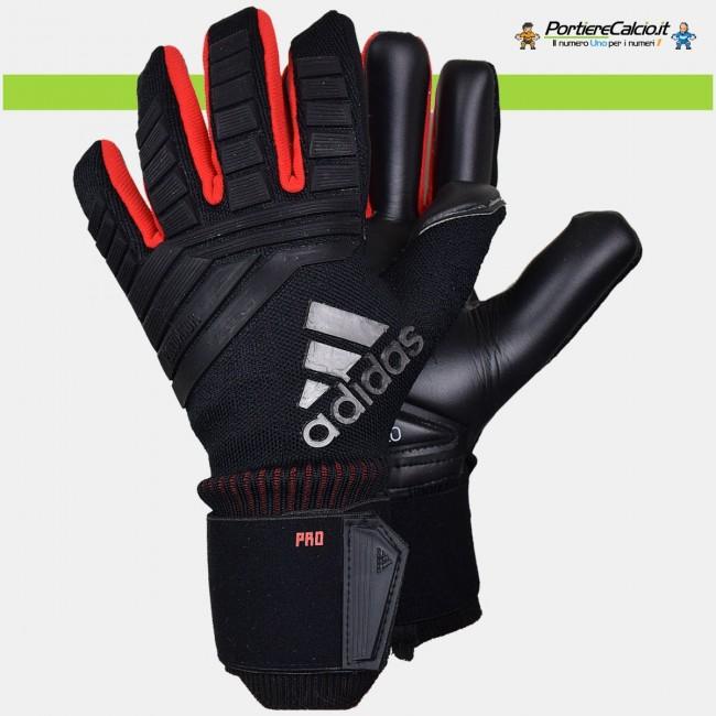 Guanti da portiere Adidas Predator Pro Black