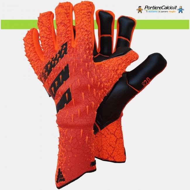 Guanti portiere Adidas Predator Pro Fingersave Meteorite