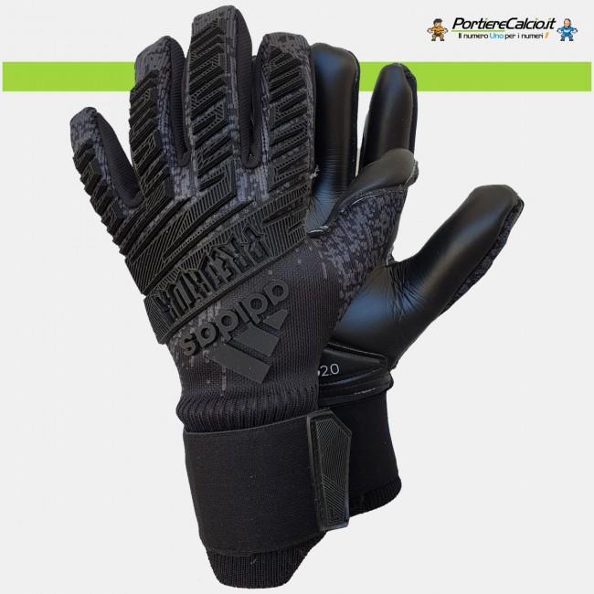 Guanti da portiere Adidas Predator Pro Total Black
