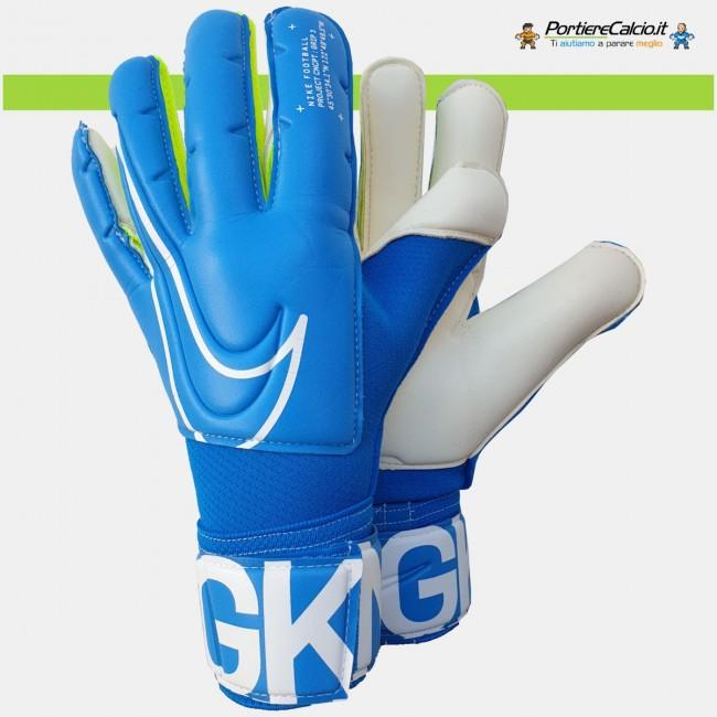 Guanti portiere Nike GK Grip3 azzurri junior