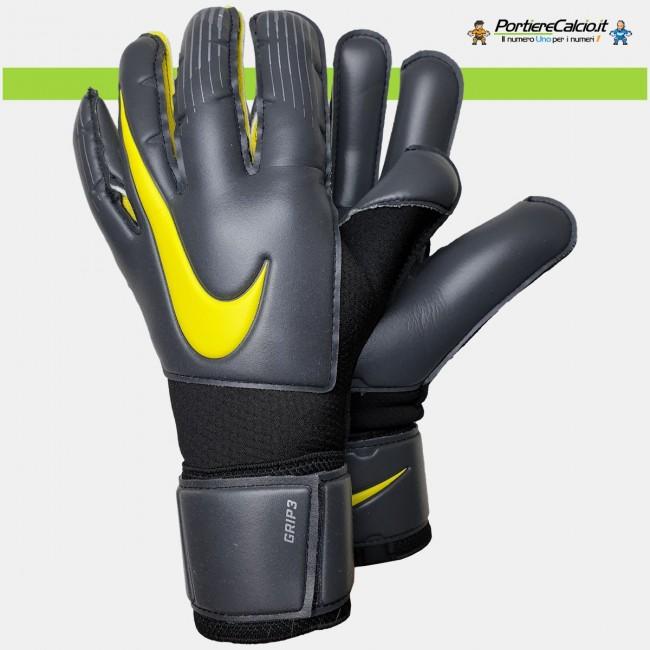 Guanti portiere Nike GK Grip3 grigi junior