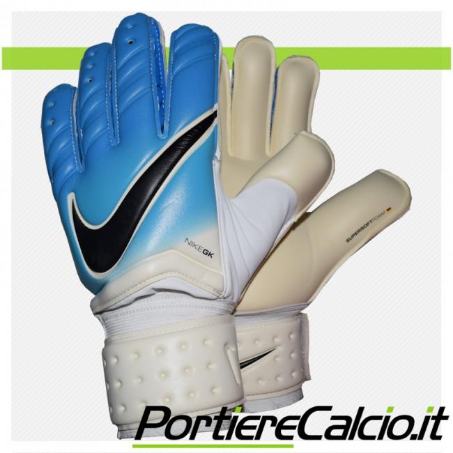 Guanti da portiere Nike Gk Spyne Pro azzurri