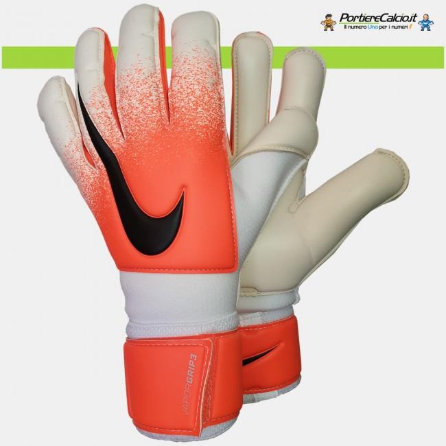 Guanti da portiere Nike Gk Vapor Grip3 bianco arancio junior