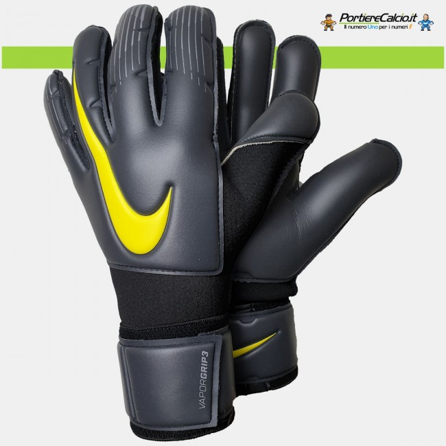 Guanti da portiere Nike Gk Vapor Grip3 grigi junior