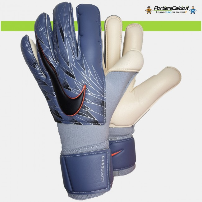 Guanti portiere Nike GK Vapor Grip3 blu acciaio