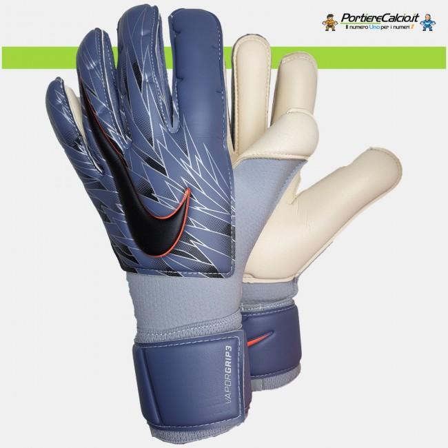 Guanti da portiere Nike Gk Vapor Grip3 blu acciaio junior