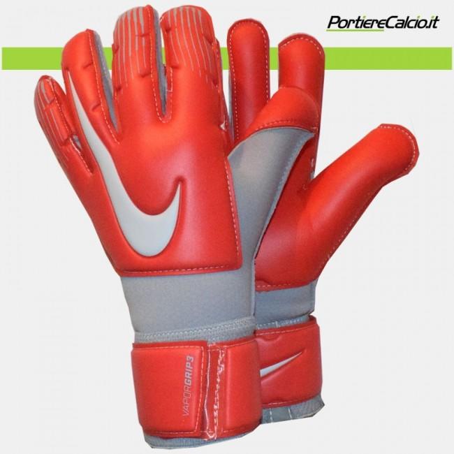 Guanti da portiere Nike Gk Vapor Grip3 rossi