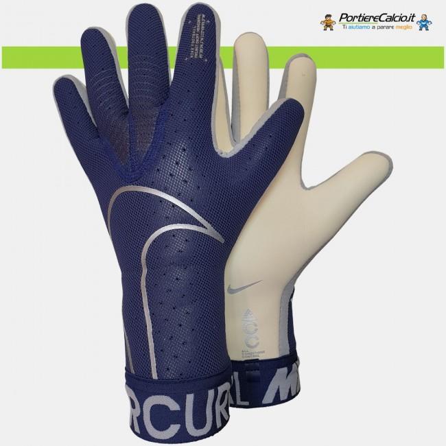 Guanti portiere Nike Mercurial Touch Elite blu