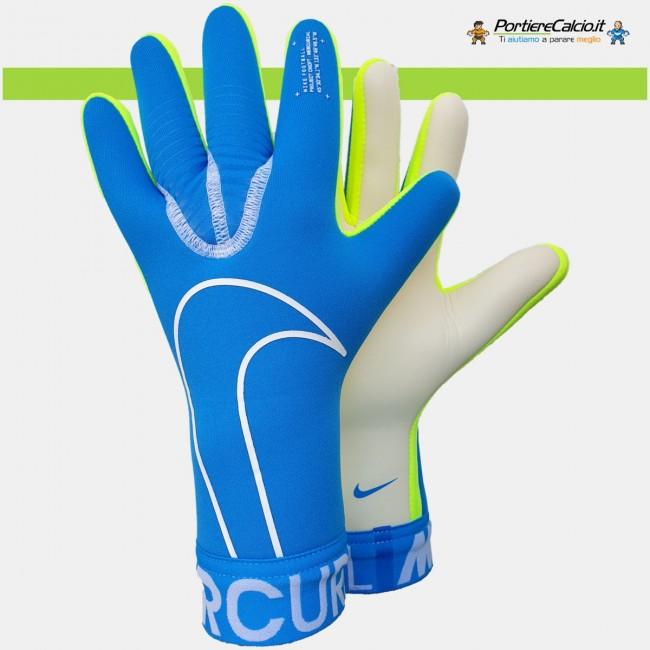 Guanti portiere Nike Mercurial Touch Victory azzurri