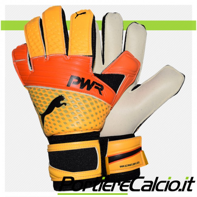 Guanti portiere Puma evoPOWER Grip 2.3 Ultra Yellow