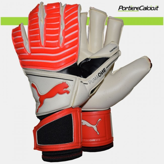 Guanti portiere Puma One 17.1 Red Blast