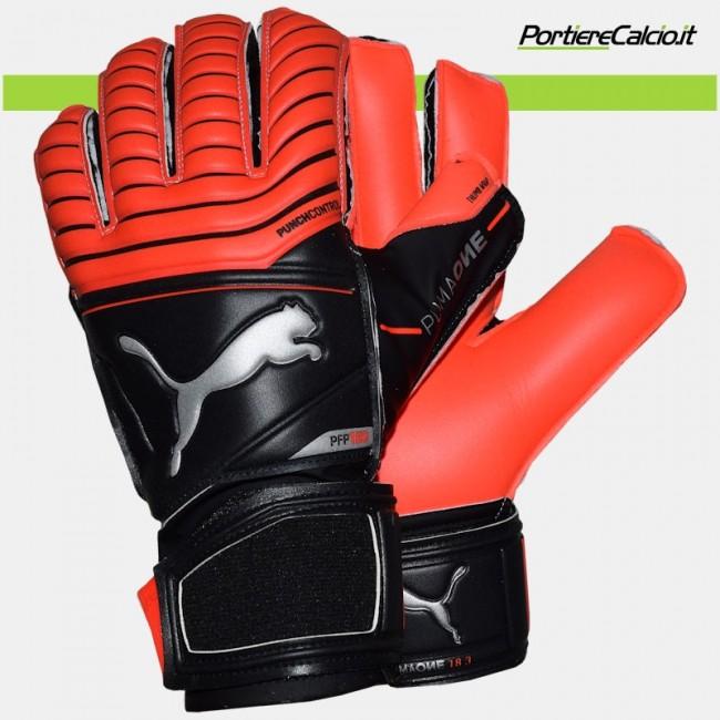 Guanti portiere Puma One Protect 18.3 Red Blast