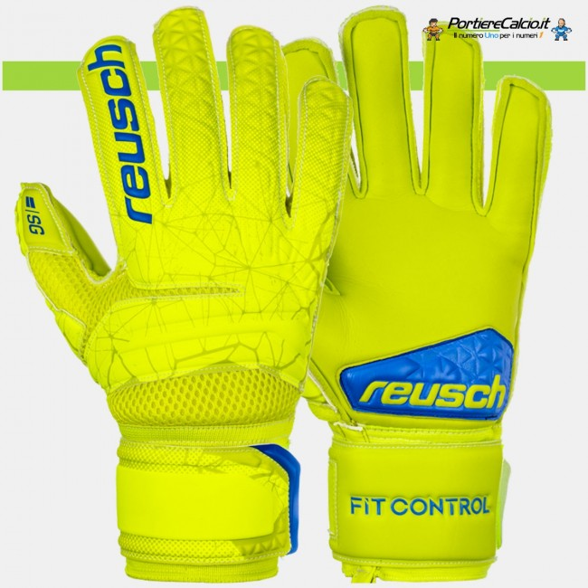 Guanti portiere Reusch Fit Control SG Extra Finger Support junior