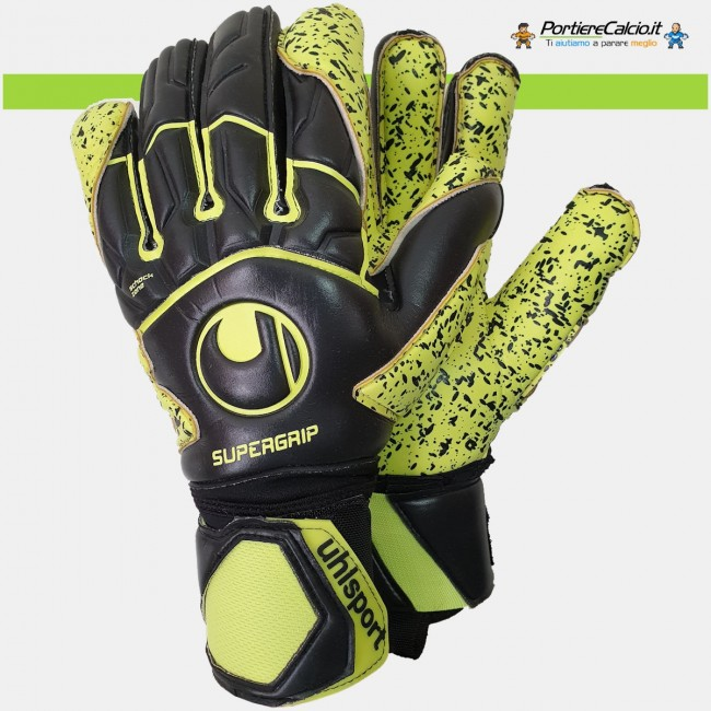 Guanti da portiere Uhlsport Supergrip Flex Frame Carbon
