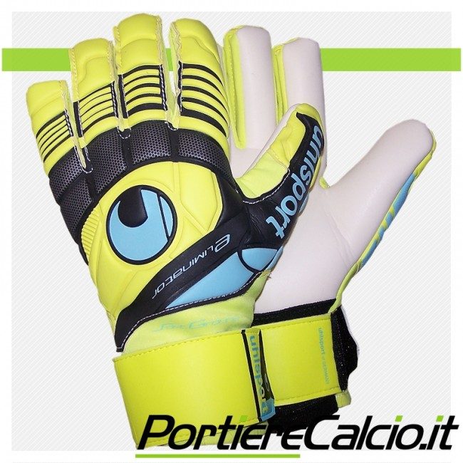 Guanti da portiere Uhlsport Eliminator Soft HN fluo Limited Edition