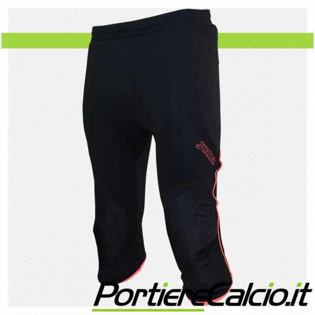 Pantalone portiere 3/4 Joma Pirata Protec corallo