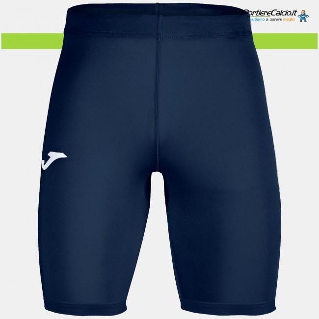 Sottopantaloncino elasticizzato Joma Brama Academy blu navy