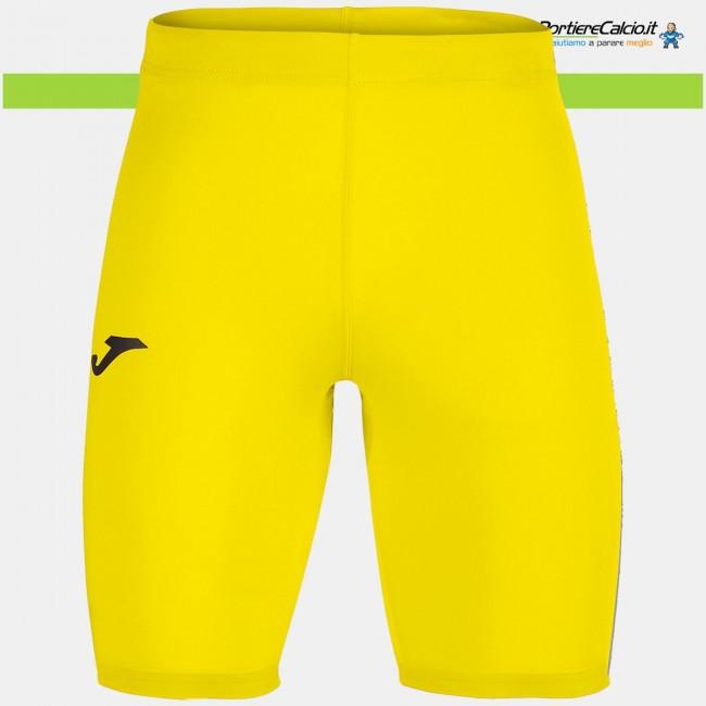 Sottopantaloncino elasticizzato Joma Brama Academy giallo