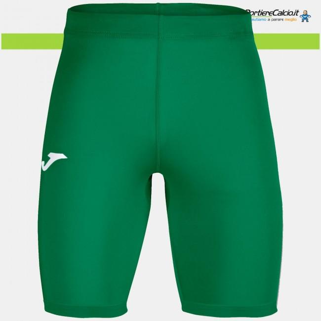 Sottopantaloncino elasticizzato Joma Brama Academy verde