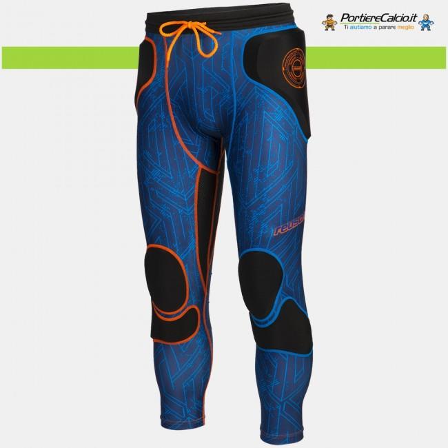 Sottopantalone alle ginocchia Reusch CS Femur 3/4 Short Padded blu